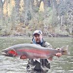 Missing steelhead fishing a lot! 3 years ago on the Babine, Silver Hilton Lodge, BC.